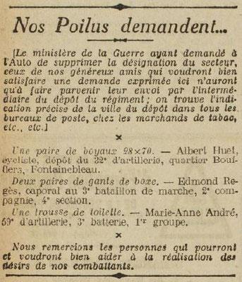 L'Auto - 24 janvier 1918