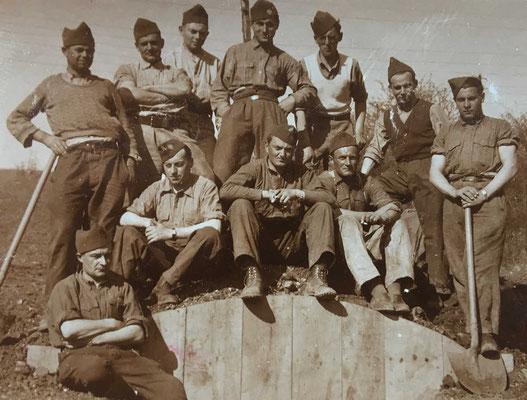 Photo datée du 24 avril 1940
