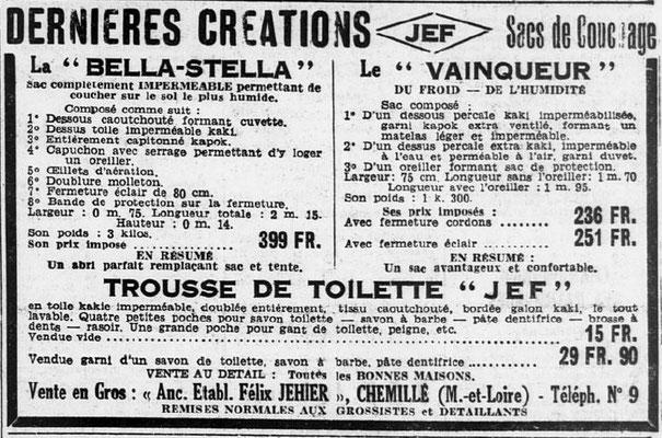 Journal Ouest-Éclair du 18 février 1940