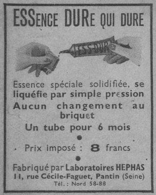 Journal Marianne du 24 janvier 1940