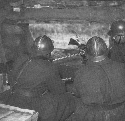 Passant modèle 1934 à l'hiver 1939/1940 - Source Le soldat français Le Bellec tome 2