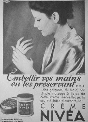 Publicité de 1937