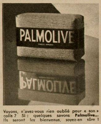 Savon Palmolive - magazine Marie-Claire du 22 décembre 1939