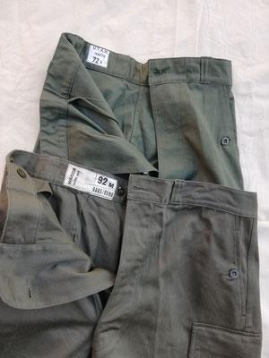 Comparaison entre un pantalon TTA et un AA