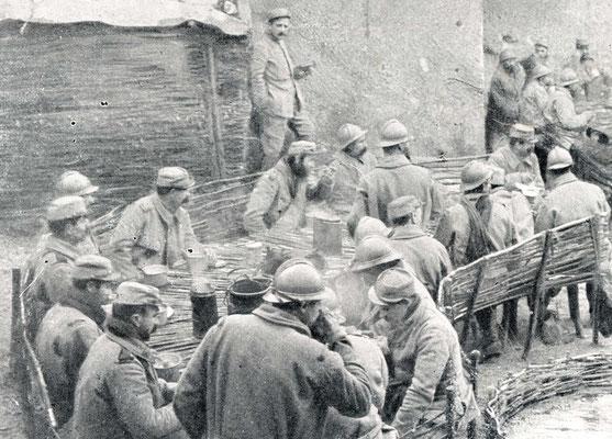 Gamelle 1852 en 1915