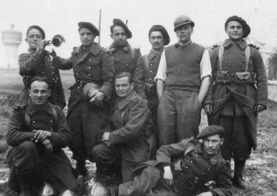 3e bataillon du 15e RIA à l'hiver 1939-source les Diables Bruns
