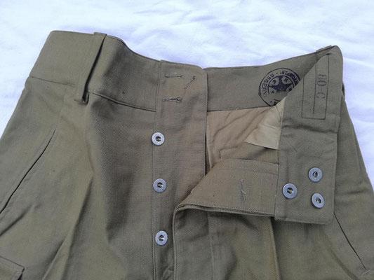 Pantalon 1947 - 3 boutons cachés