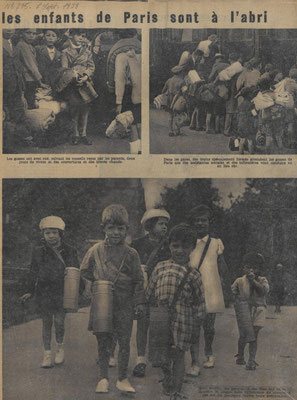 Magazine Regards du 7 septembre 1939