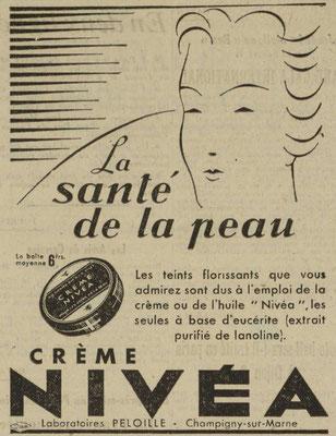 Journal l'Est Républicain du 27 mars 1937