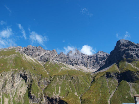 Ausblick von der Kemptner Hütte - © Fotoarchiv Familie Braxmair