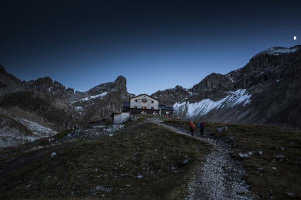 Memminger Hütte/ © Bildarchiv Tirol West - Fotograf Daniel Zangerl