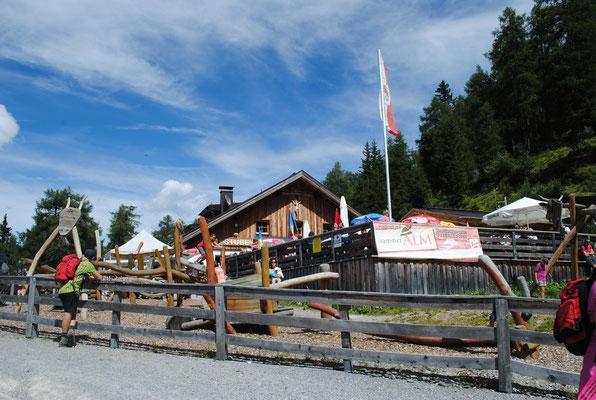 Skihütte Zams Venet / © Bildarchiv Tirol West - Fotograf Daniel Zangerl