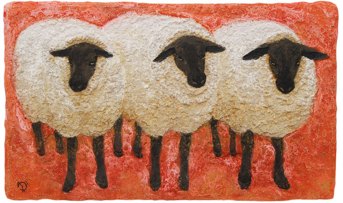 2014年 三匹の羊 M6号