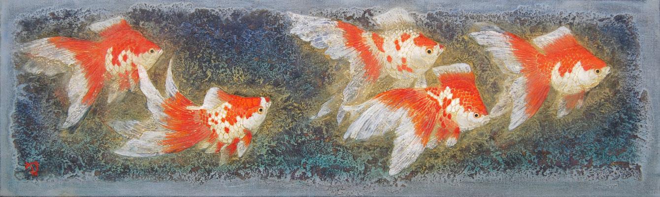 2011年 琉金図 変形15号