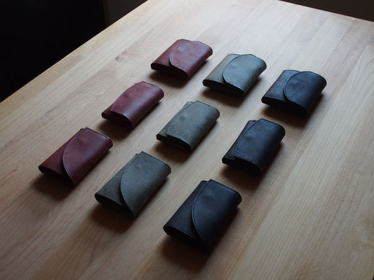 京都のバッグメーカー 革や帆布製のかばん・小物 コンパクトウォレット カードケース 小銭入れ キーケース