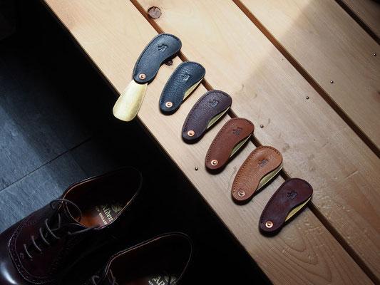 京都のバッグメーカー 革や帆布製のかばん・小物 シューホーン 靴べら
