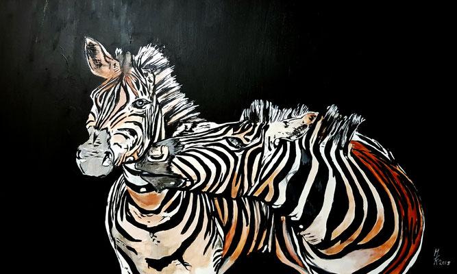 Zebras 60x100cm Nr. 1807