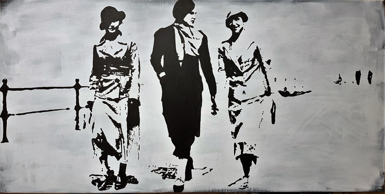 London 1934 80x100cm Nr. 1713