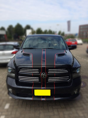 Dodge Ram striping