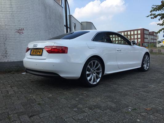 a5 coupe van zilver naar wit