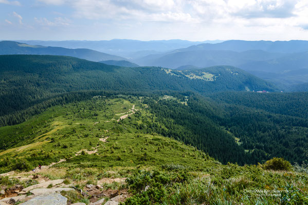 Carpathian Mountains, Hoverla, Ukraine