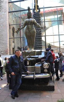 Salvador Dali Museum in Figueres, Barcelona, Spain