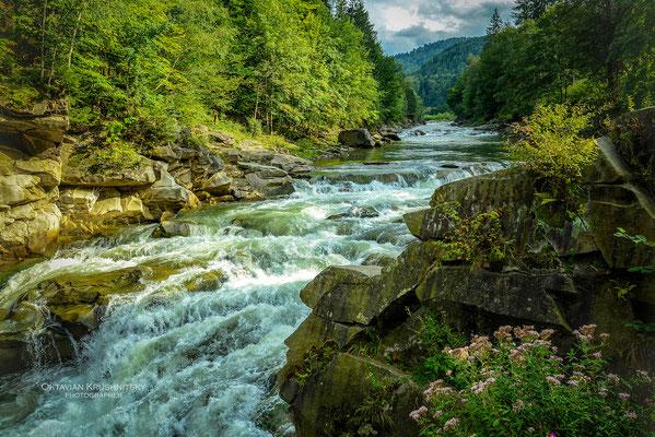 Carpathian Mountains, Yaremche, Ukraine