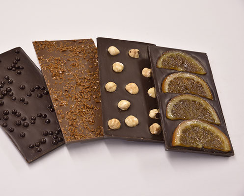 Tablettes de chocolats fins