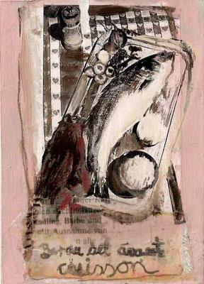 Bar au Sel, 2008, 17 x 12 cm, (gerahmt 26,6 x 20,5 cm)