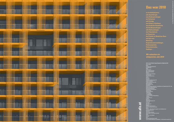 AfO Architekturforum Oberösterreich Posterdesign