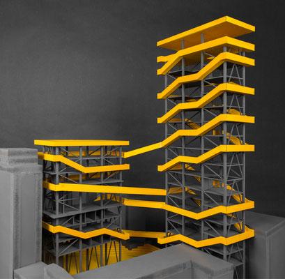 KUNSTFABRIK  Entwurfsprojekt Kunstuniversität Linz Architektur