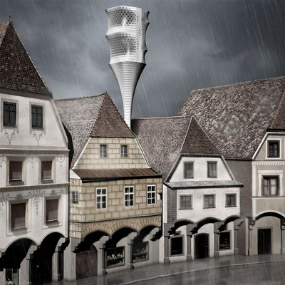 fold-out-house for historic cities competition entry Dezeen Mini Living