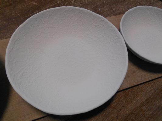 サラダボウル&取皿の表面