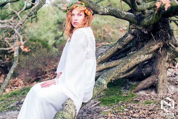 The forest girl/ Make up and hair by Sara Conesa llorente / https://www.makeup101.nl/