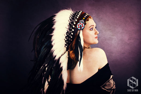 The chieftess two/ Make up and hair by Sara Conesa llorente / https://www.makeup101.nl/
