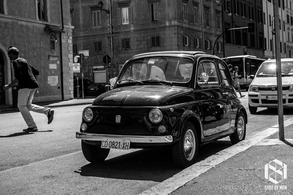 The getaway car