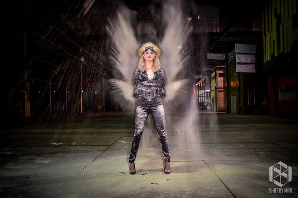 Angel of dust/ Make up and hair by Nienke Lourens