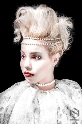 Anna the doll / Make up and hair by Nienke Lourens