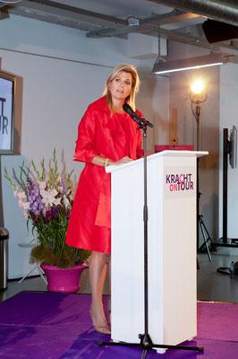 Koningin Máxima, Kracht on Tour Eindhoven, 2015