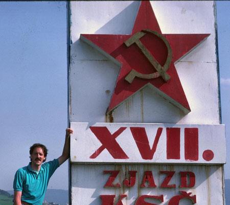 1988 radelte ich hinter dem Eisernen Vorhang von Berlin nach Istanbul.