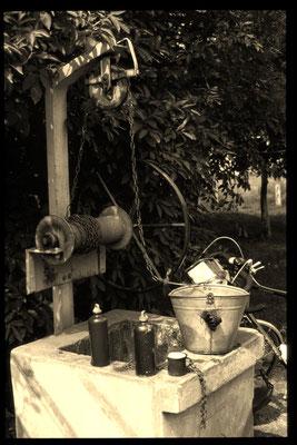 Bei meiner ersten Tour war das noch anders. Auch wenn ich manchmal an der Qualität des Wassers zweifelte, war ich auf die Brunnen angewiesen.