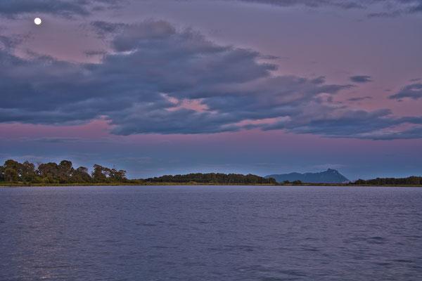 Lago di Fogliano e Promontorio del Circeo