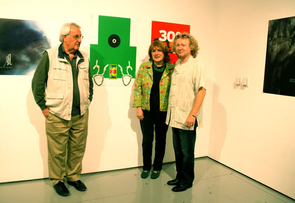 2009, with Branko and Branka Soemen in USA/L.A. - CSUN