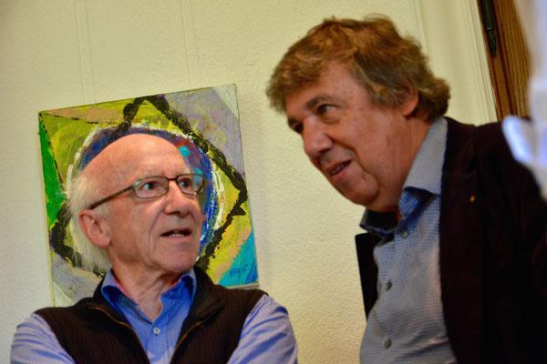Georg Schierscher und Josef Biedermann