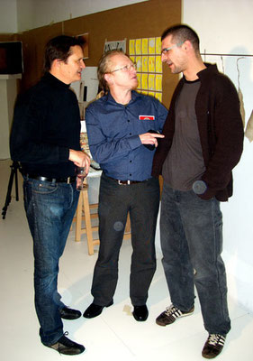 Stephan Sude, Vlado Franjevic and Marco Eberle