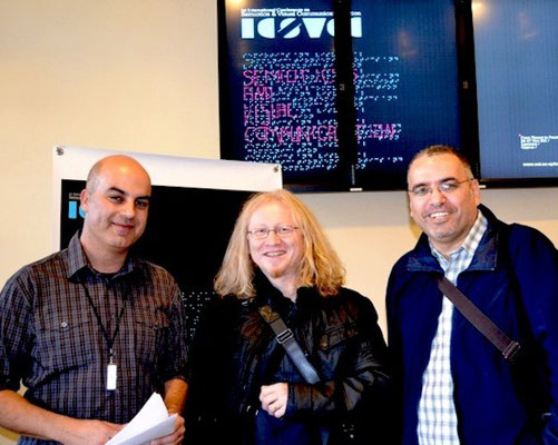 2011 Prof. Evripides Zantides, Vlado Franjevic and Prof.Dr. Arafat Al-Naim in Cyprus