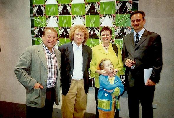 Dr. Wieslaw Piechocki, Vlado Franjević, Yvonne Heeb mit Vlados Tochter Taina und Josip Špoljarić von der Botschaft der Republik Kroatien in der Schweiz