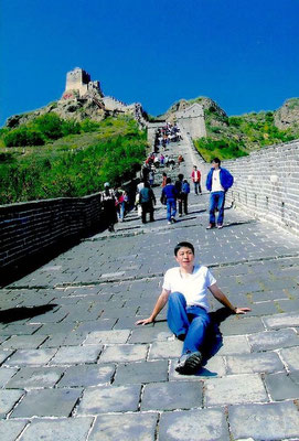 Liuwei on the Great Wall