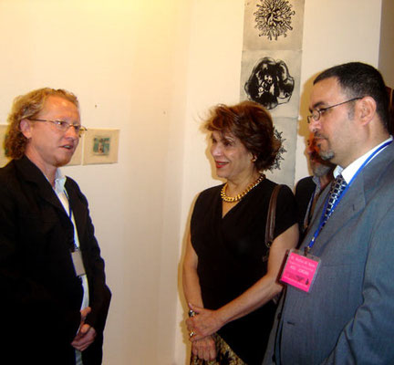 Vlado with Princess Ali and dr. Arafat