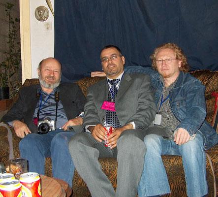 prof. Todor Vidjaev, dr. Arafat al-Naim and Vlado